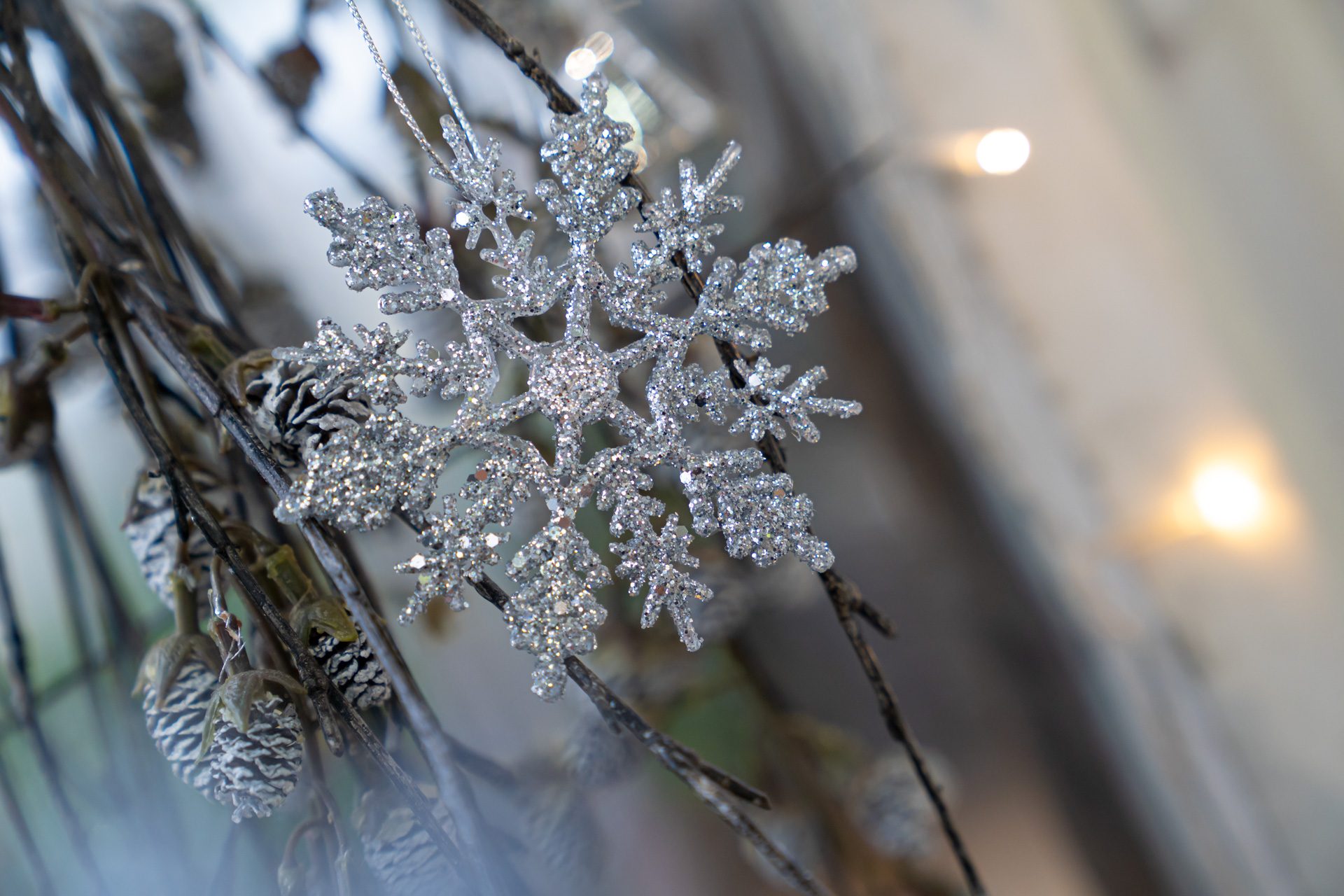 Festliche Dekorationen zur Adventszeit