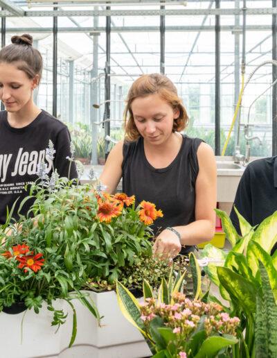 Kreatives Arbeiten mit Pflanzen zeichnet das Berufsbild aus