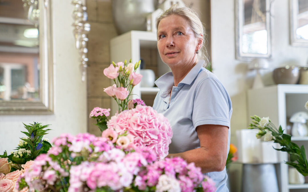 Blumen Carl Floristik Hochzeitsgestecke