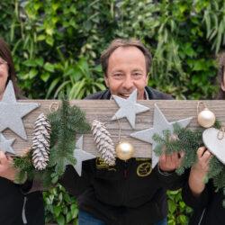 Blumenhaus Decker Team Weihnachten