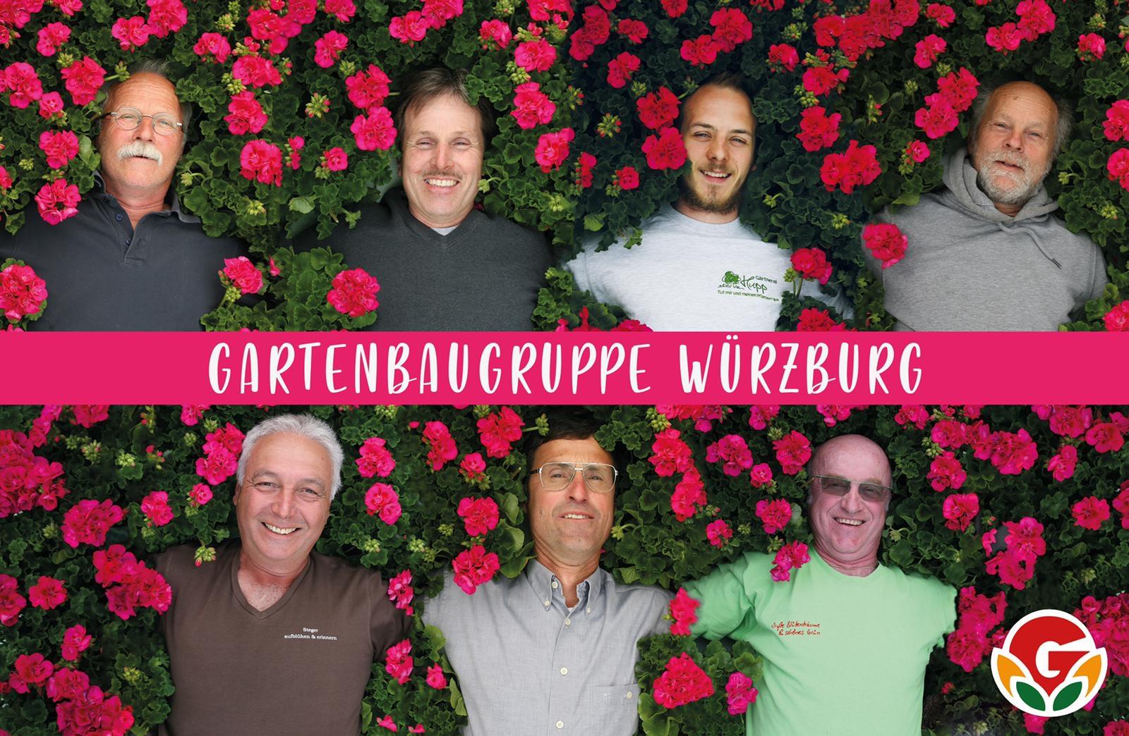 Gruppenbild Gartenbaugruppe 2020