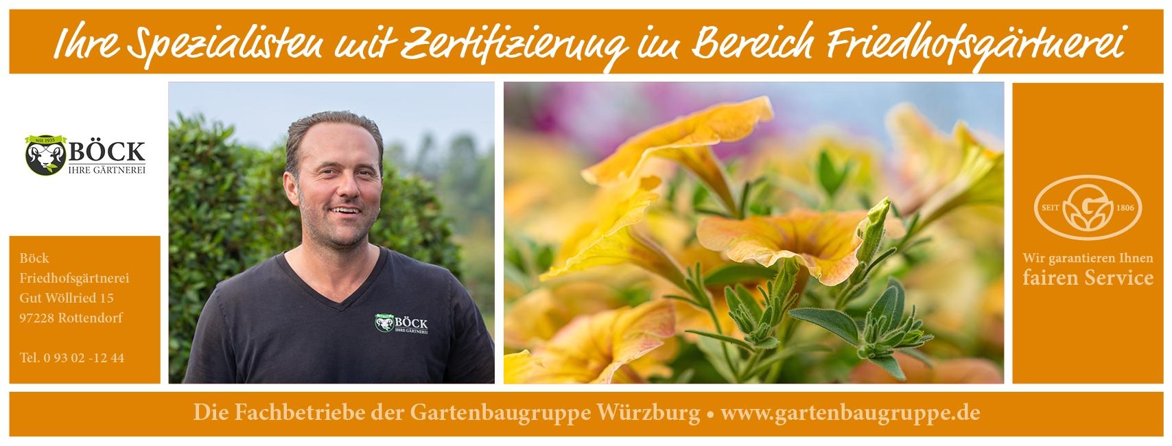 Gärtnerei Böck - Gartenbaugruppe Würzburg