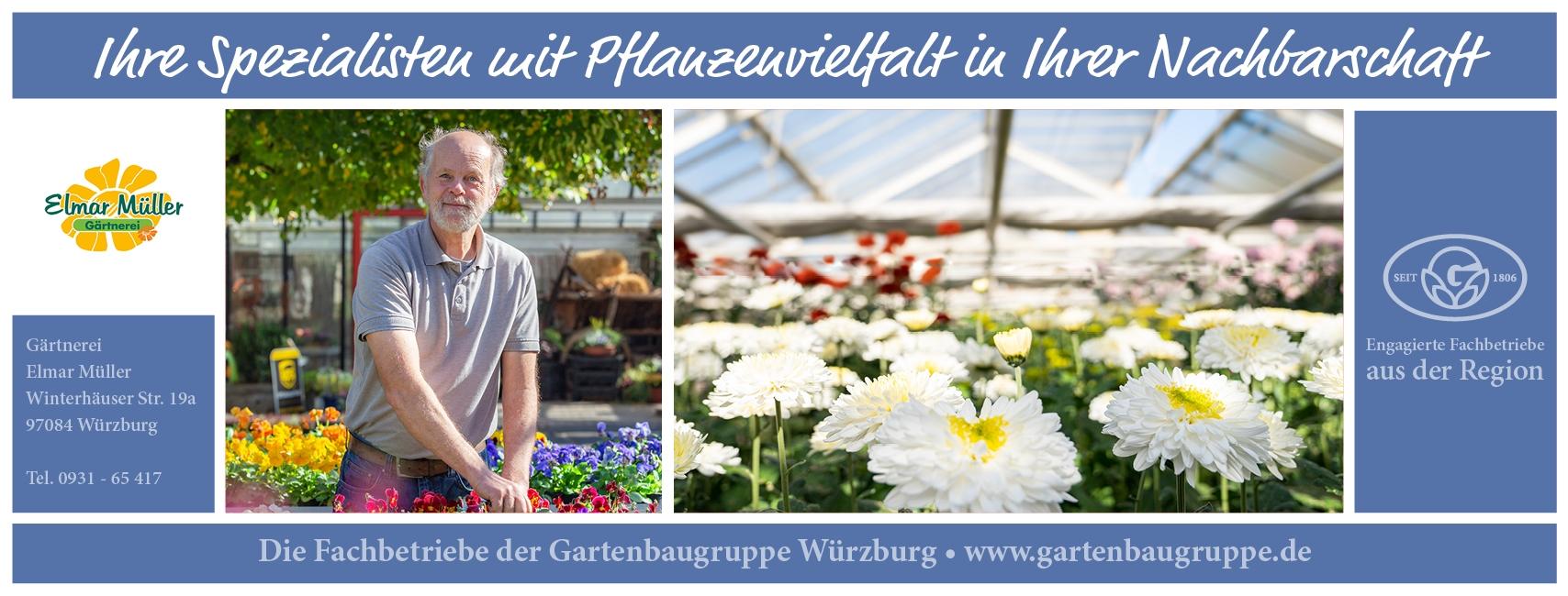 Gärtnerei Elmar Müller - Gartenbaugruppe Würzburg