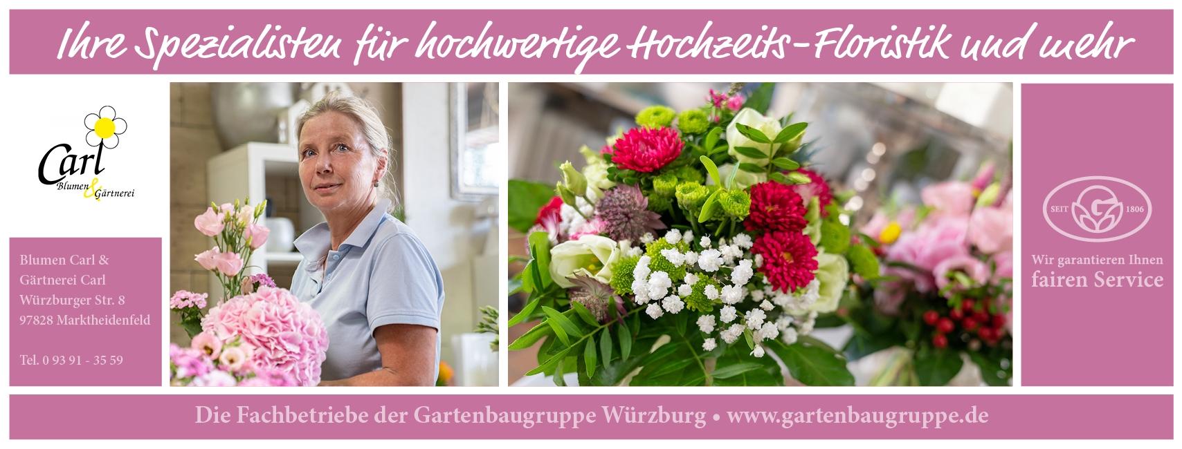 Blumen & Gärtnerei Carl - Gartenbaugruppe Würzburg