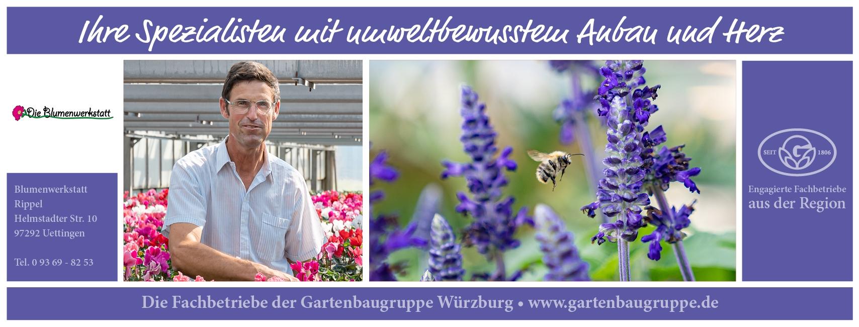 Die Blumenwerkstatt Rippel - Gartenbaugruppe Würzburg
