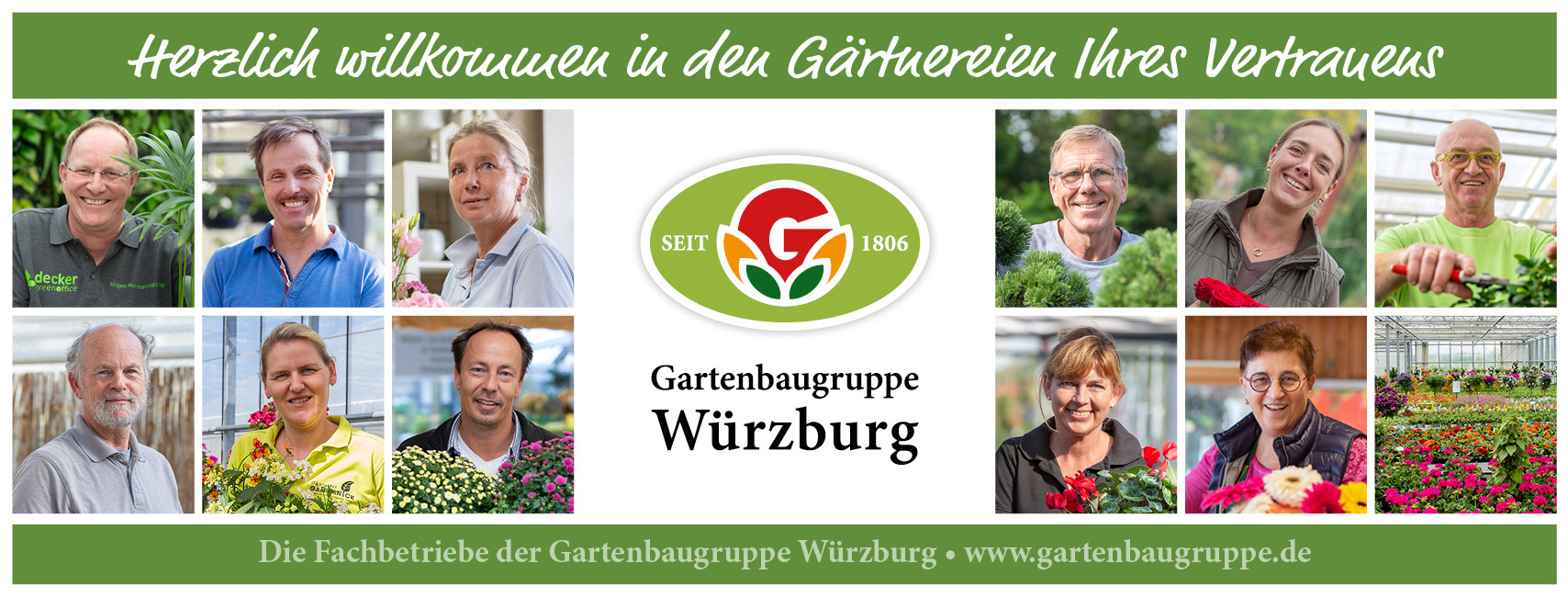 Die Gartenbaugruppe Würzburg stellt sich vor 2021
