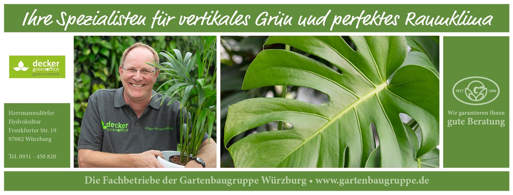 Decker Green Office - Gartenbaugruppe Würzburg