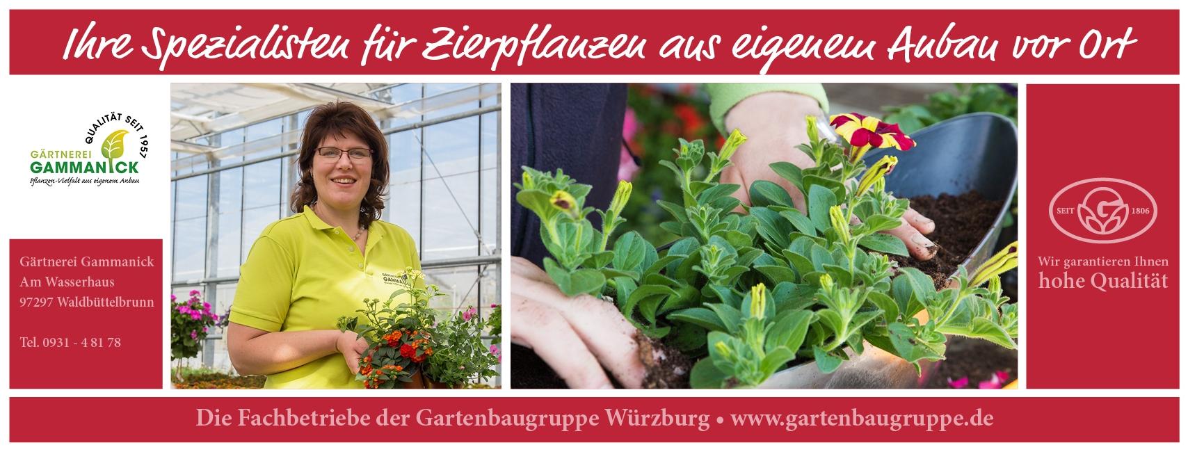 Gärtnerei Gammanick - Gartenbaugruppe Würzburg