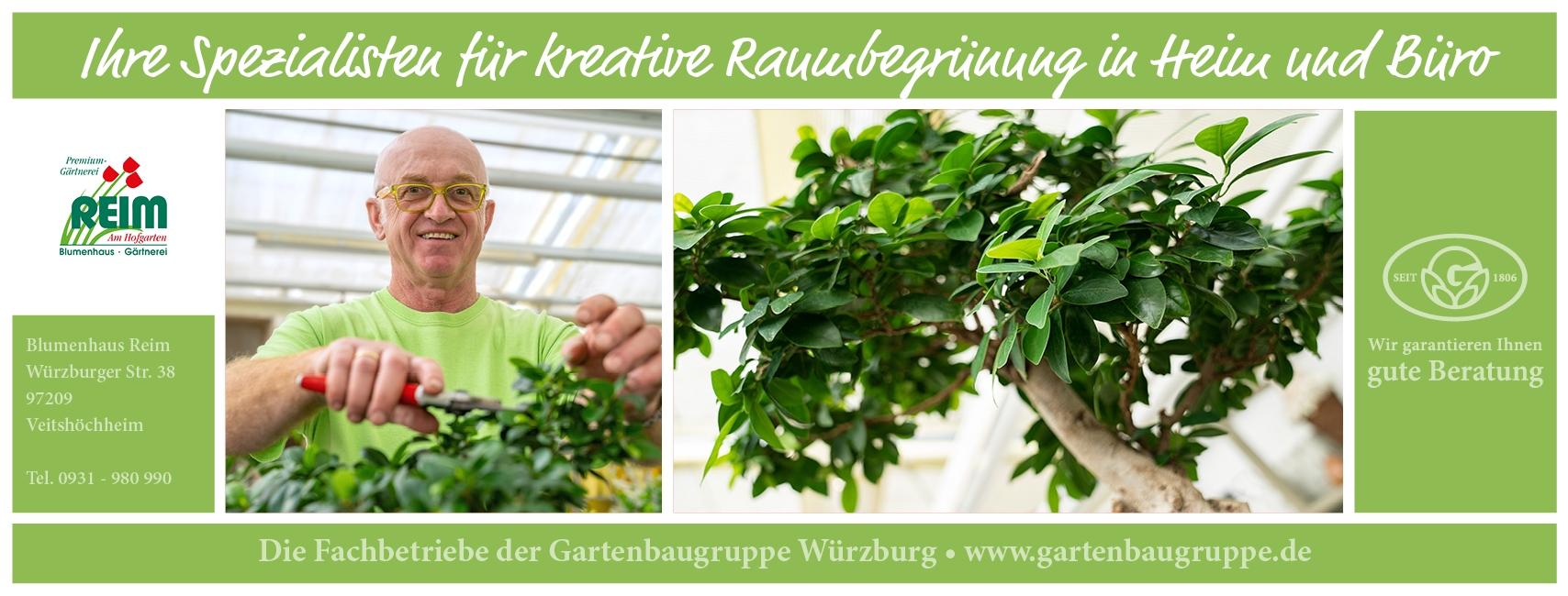Blumenhaus Reim Veitshöchheim - Gartenbaugruppe Würzburg