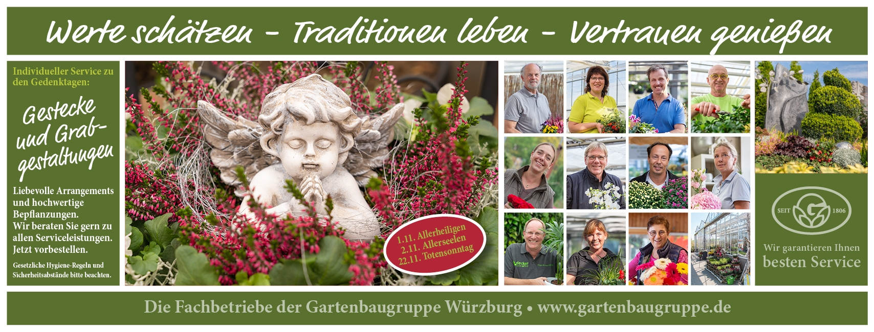 Gartenbaugruppe Banner Allerheiligen Friedhof Facebook Home 820x312px