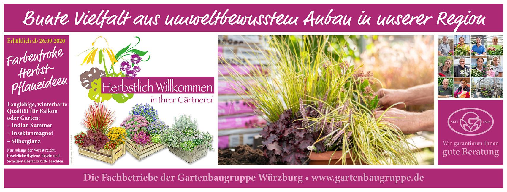 Gartenbaugruppe Banner Herbstlich Willkommen Home Facebookheader
