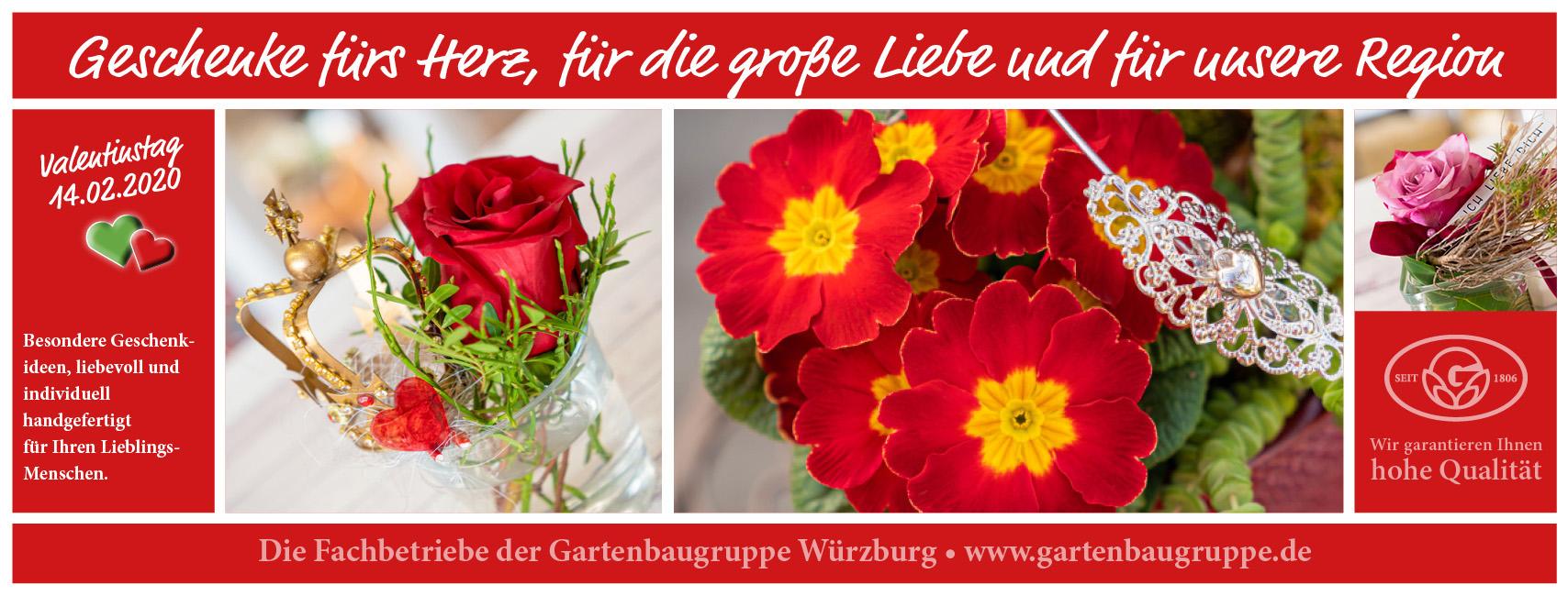 Gartenbaugruppe Würzburg –Valentins Geschenke Von Herz Zu H
