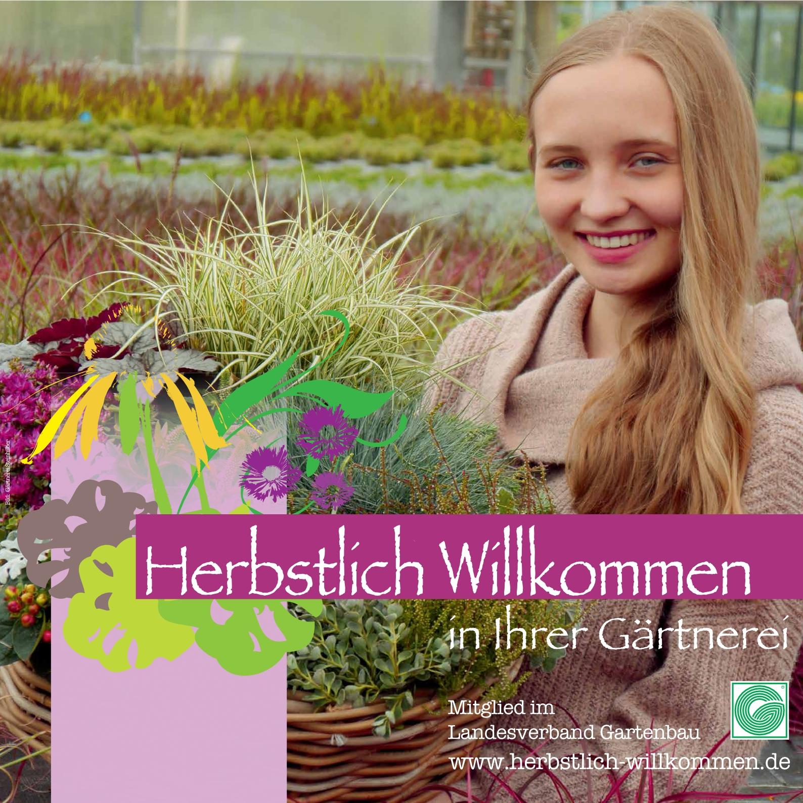 Herbstlich Willkommen in Ihrer Gartenbaugruppe