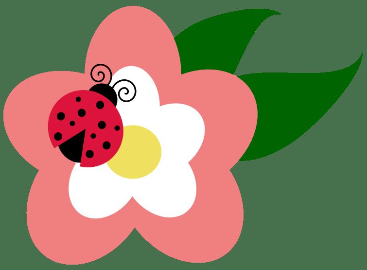 Nützling Marienkäfer Auf Blume